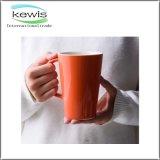taza de café de cerámica del color puro 350ml para el regalo