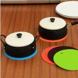 Ustensiles de cuisine écologique résistantes à la chaleur Hot Pot titulaire tapis de silicone