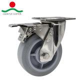 TPRの車輪のステンレス鋼の頑丈な足車
