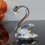 Het in het groot Paar Van uitstekende kwaliteit van de Ambachten van het Kristal van Zwaan als Gift van de Verjaardag of voor de Giften van het Huwelijk van de Verrassing