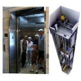 機械部屋が付いているVvvf制御観察のパノラマ式のエレベーター