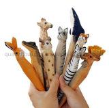 Bolígrafo animal lindo de madera de encargo