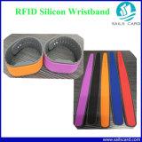Wristbands de la talla Lf/Hf/UHF RFID de la impresión de la insignia diversos