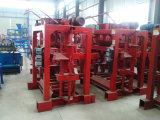 Qtj4-40b2 Petit investissement machine à fabriquer des blocs semi-automatique