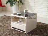 Insiemi di salone di vetro del tavolino da salotto del MDF di nuova lucentezza di disegno alta (CJ-147A)