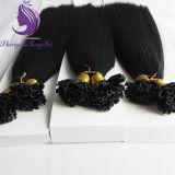 Pré-queratina cabelo colado/Ponta plana/I/U de ponta a ponta de extensões de cabelo (UT34)