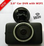 2.4G WiFiの5.0megaソニー車DVRの最もよい夜間視界のダッシュのカメラの新しい3.0inch完全なHD1080p車のデジタルビデオレコーダーのブラックボックス