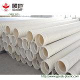 PVC 배수관 PVC-U UPVC 관 두 배 벽 물결 모양 플라스틱 관 가격