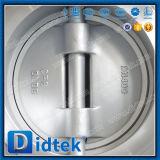 Клапан-бабочка Zero утечки Didtek пневматическая двойная ая