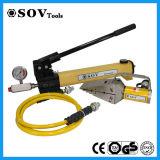 Spalmatore e taglierina idraulici della flangia con la pompa idraulica manuale