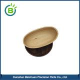Ciotola di legno antica portatile ecologica Handcrafted del supporto del filato di lana per lavorare a maglia