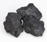 Roccia esterna della lava del pozzo del fuoco
