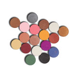 6 colores mate Eyeshadow Shimmer Glitter Eye Shadow Palette polvo