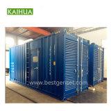 ディーゼル機関Kta38-G9を搭載する900kw防音のタイプCumminsの発電機