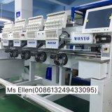 Wonyo multi Haupthochgeschwindigkeitsstickerei-Maschinen-industrieller Gebrauch Wy1204c