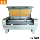 Couro de tecido têxtil máquina de gravura a laser