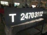 Водонепроницаемый чехол для установки вне помещений компании светится 3D-медных окрашенные фирменного светодиода подписать