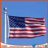 Mât de drapeau durable de vente chaude avec l'indicateur de Customed