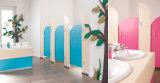 L'épaisseur 19 mm Couleur Woodgrain toilettes Portes et panneaux de parition
