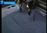 革ファブリックパターンレーザーの切断の彫版機械