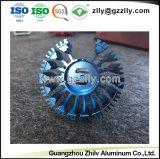 Radiator van uitstekende kwaliteit van het Aluminium van het Afgietsel van de Matrijs de Geanodiseerde voor LEIDENE Lamp