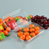 Los alimentos en envases de plástico de embalaje Caja de uvas frutas desechable Blister Clamshells 500g