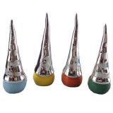 Decorazione elettrolitica di natale del Babbo Natale del nuovo argento di disegni