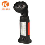 Camping La pendaison de lampe de poche portable 2+14 LED phare de travail de voiture magnétique