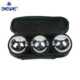 Barato em aço inoxidável de metal no exterior Personalizado Bocce ball Boule Bola Definido