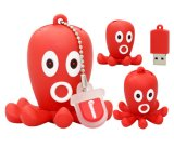 Unidade Flash USB de polvo Cartoon dons a granel