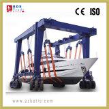 Dispositif de levage de bateau mobile, le yacht de manutention, grue à portique de levage de bateau de la machine
