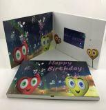 Video cartolina d'auguri personalizzata con stampa