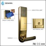 スマートなホテルの木のドアネットワーク鍵カードロックシステム