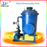 La régénération du filtre à huile moteur Diesel de la machine
