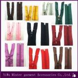Hohe Guality Kleid-Zubehör-langkettiger Nylonreißverschluß für Verkäufe