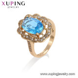 13553 Ring van de Juwelen Zircon van de Rechthoek van de Luxe van Xuping van de hoogste Kwaliteit de Purpere Kubieke
