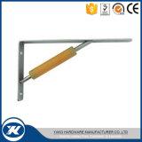 Bride en verre de fixation d'étagère de support commercial de mur de matériel de Yako