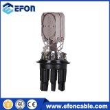 Tipo de tampa de 1 em 7 Encerramento da junção de fibra óptica até 72f