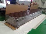 Premières tuiles de Decking de WPC, Decking composé en plastique en bois courant pour l'Europe