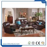 وظيفيّة كلاسيكيّة نسخة ردهة رفاهية [جنوين لثر] أريكة أثاث لازم يعيش غرفة أريكة مجموعة