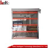 柔らかいPVCファブリック高速急速な圧延シャッター入り口の倉庫のドア