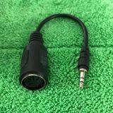 5-контактный DIN MIDI штекер к разъему 3,5 мм штекер стерео аудиокабель