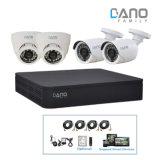4CH 720p analoger DVR Digital Videogerät-Installationssatz CCTV-Ahd