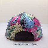 高リゾリューションポリエステル6panel昇華3D刺繍の急な回復の帽子