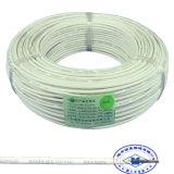Con uno o varios núcleos de silicona de PVC o de alambre de cobre eléctrico
