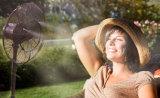 26 Zollmisting-Ventilator-bewegliche leistungsfähige Luftkühlung