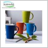 tazza di caffè di ceramica di colore puro 350ml per il regalo