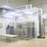 Grãos de madeira de carvalho de ouro papel impregnado de melamina decorativa para móveis do fabricante chinês