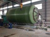 Cadena de producción horizontal del tanque de GRP FRP máquina de enrollamiento
