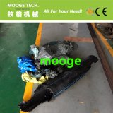 Shredder do eixo da protuberância plástica rígida Waste dos PP do HDPE do PVC único